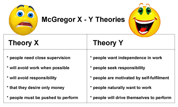 theory y management examples